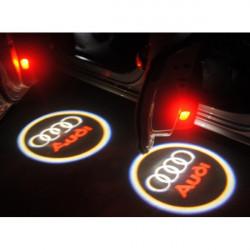 Logo LED Universale per Mercedes Benz Ngjyre Blu