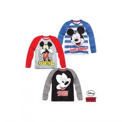 Bluza me Menge te Gjata Mickey 3 - 8 Vjec