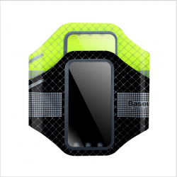 "Mbajtese Krahu per Smartphone Baseus 5.5"" Black & Green"