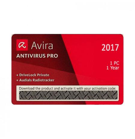 Avira Antivirus Scratch Card,1PC / 1Vit