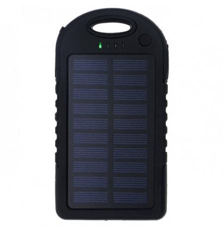 Bateri e Jashtme me Panel Diellor 5000mAh