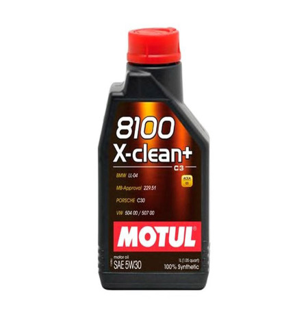 Vaj Motorik Motul 8100 X-Clean+ 5W30