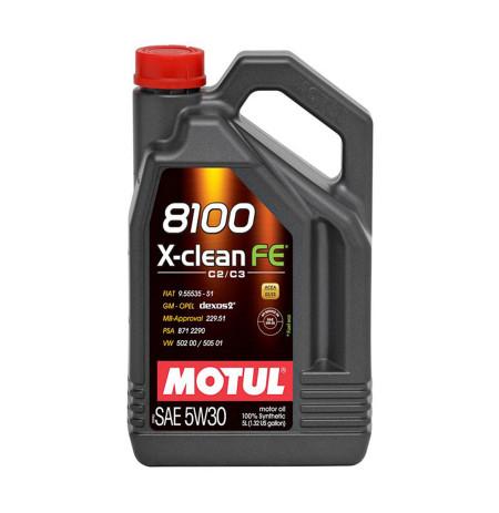 Vaj Motorik Motul 8100 X-Clean FE 5W30