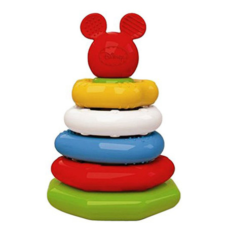 Clementoni Loder Mickey Stacking Rings Disney Baby