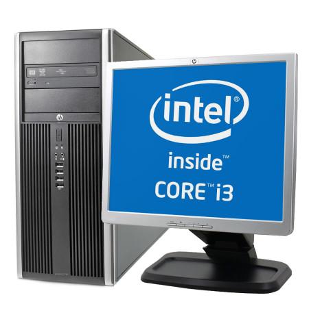 """Set Desktop HP Compaq 6200 Pro + Monitor 19"""""""