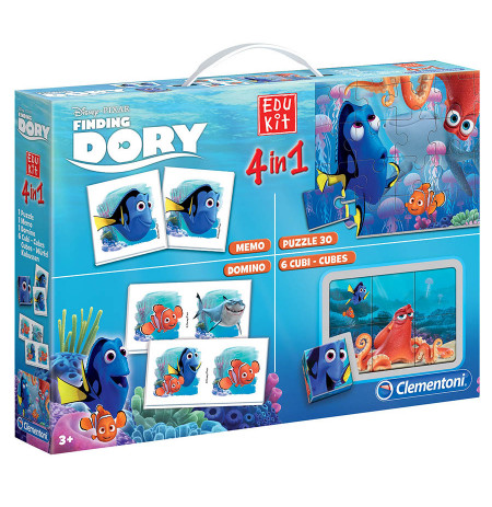 Loder Edu Kit 4 In 1 Finding Dory Clementoni
