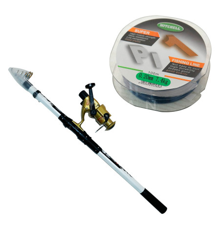 Set Peshkimi shkop 360cm, cikrik, dhe filispanje B&W