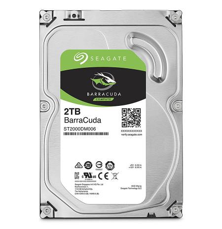 """HDD Seagate 2TB 3.5""""Barracuda, i Brendshem"""