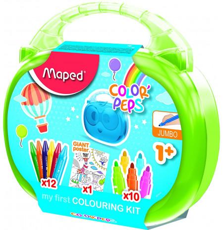 Valixhe Maped Colouring Kit Color'peps