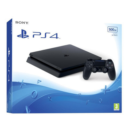 Playstation 4 500 GB Slim D Chassis Console, Black