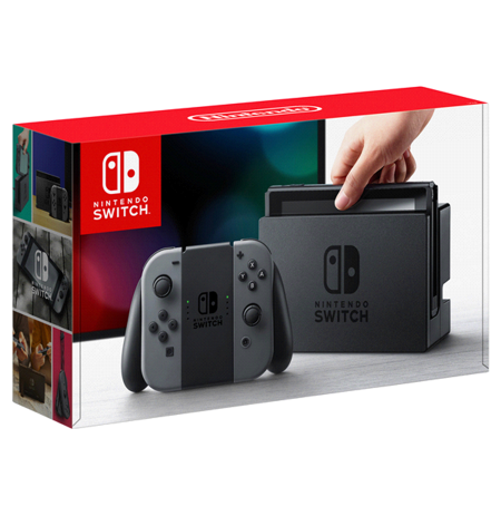 Console Nintendo Switch Joy-con Grey