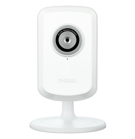 D-Link IP Camera Wireless N Network Day, VGA CMOS sensor, 4X digital zoom, Built-in microphone,White