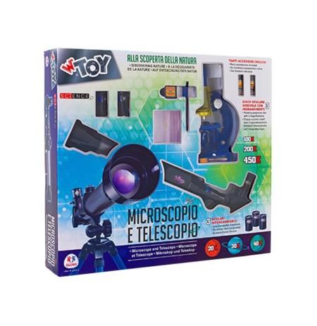 Globo Mikroskop dhe Teleskop 5A+