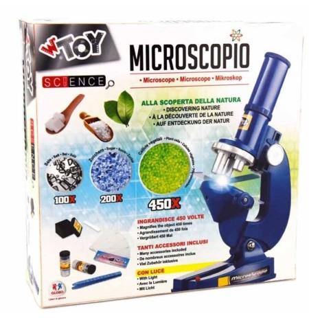 Globo Mikroskop me Bateri
