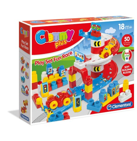 Clementoni Loder Play Set Fun Race Clemmy