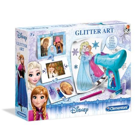 Clementoni Loder Frozen Glitter Art