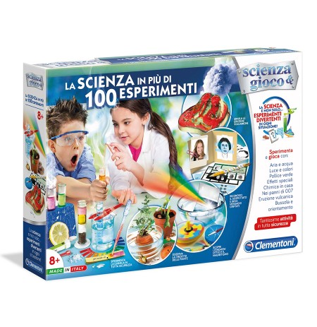 Clementoni Loder La Scienza In Piu' Di 100 Esperimenti
