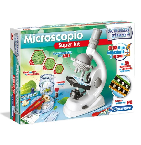 Clementoni Loder Microscopio Super Kit