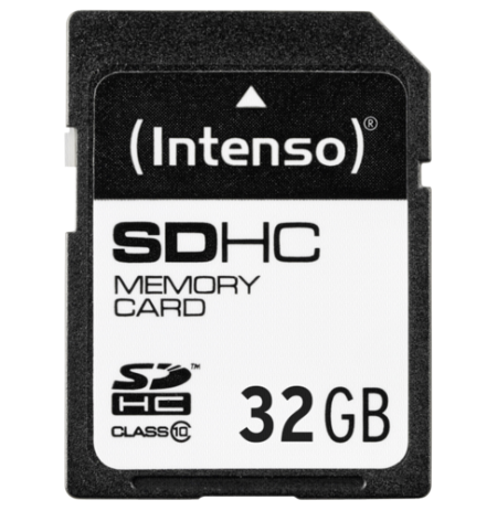 Card SDHC 32 gb Class 10 Intenso 90mb/S Card Pro UHS I