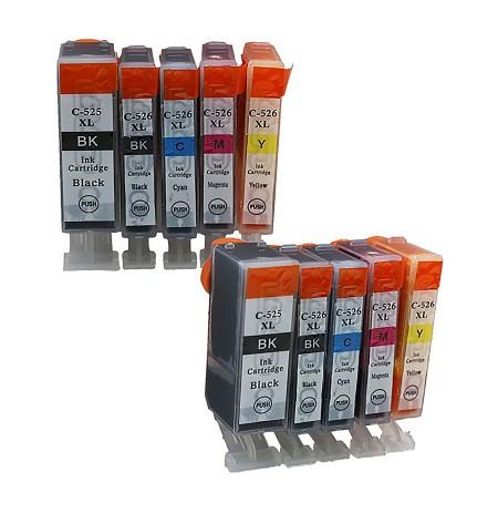 Toner Ctrg. Canon NP-C-0525BK/526BK/C/M/Y(Multi pack) G&G (5 PCS ml) - BK/BK/C/M/Y