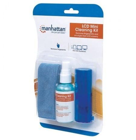 Cleaning Kit - LCD, brush, bag, cloth, 60 ml