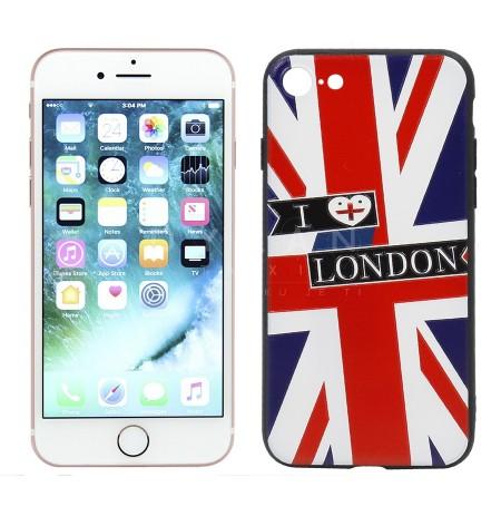 iPhone 7/8 Kase e Gomuar I Love London