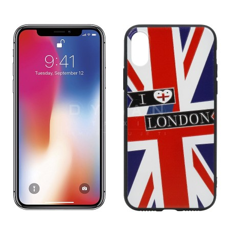 iPhone X, Kase e Gomuar I love London