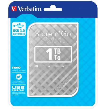 """HDD Verbatim External 2.5"""" 1TB USB3.0"""