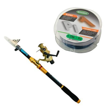 Set Peshkimi shkop 300cm, cikrik, dhe filispanje B&G