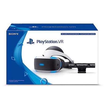 Sony Playstation VR + VR Worlds + Kamera V2
