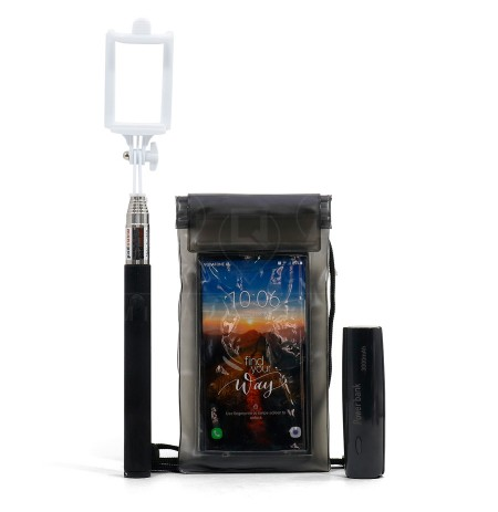 Bateri e Jashtme 3000 mAh + Shkop Selfie + Qese Kundra Ujit